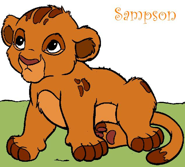 Cubs for Vitani and Kopa © The Lion King