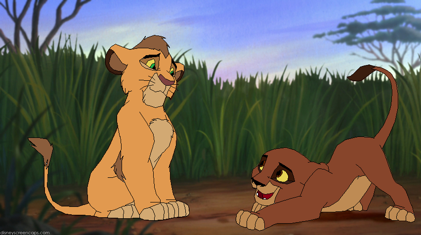 Lion king mating drawing