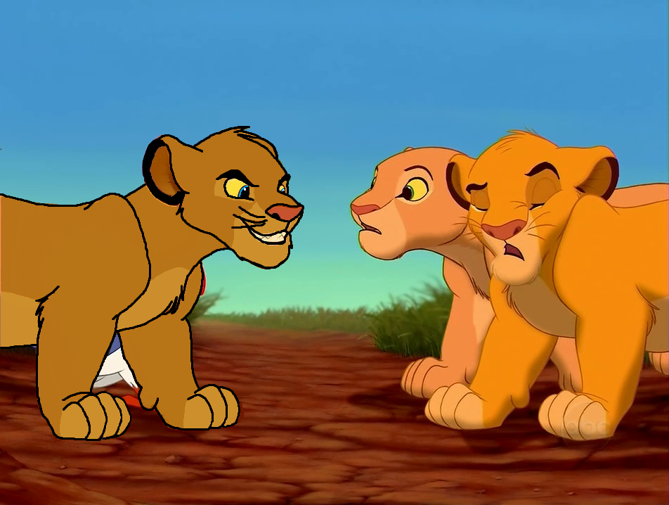 The gallery for --> The Lion King Simba And Nala Kissing Lion King Simba And Nala Cubs Kissing