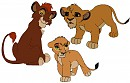 Kiara and Kovu Fan Cubs