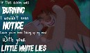Little White lies -Simba and Nala-