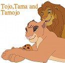 Tamojo and his parents