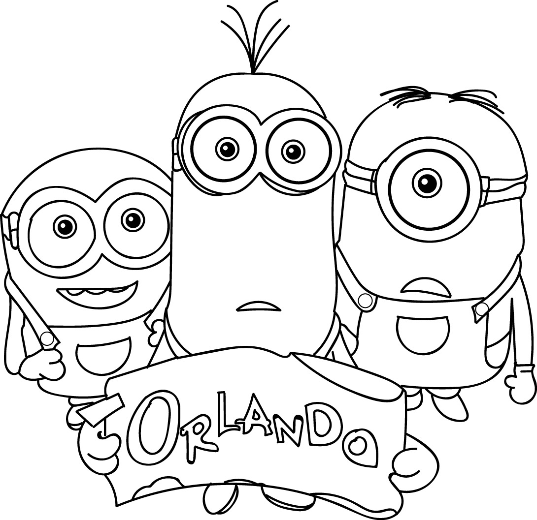christmas minion coloring pages - goodies despicable me
