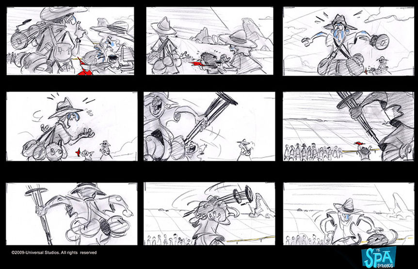 storyboards 169 despicable me