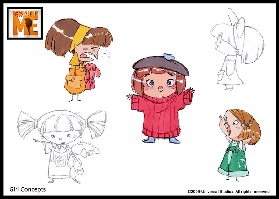 Character Design References Website : Concept art � despicable me