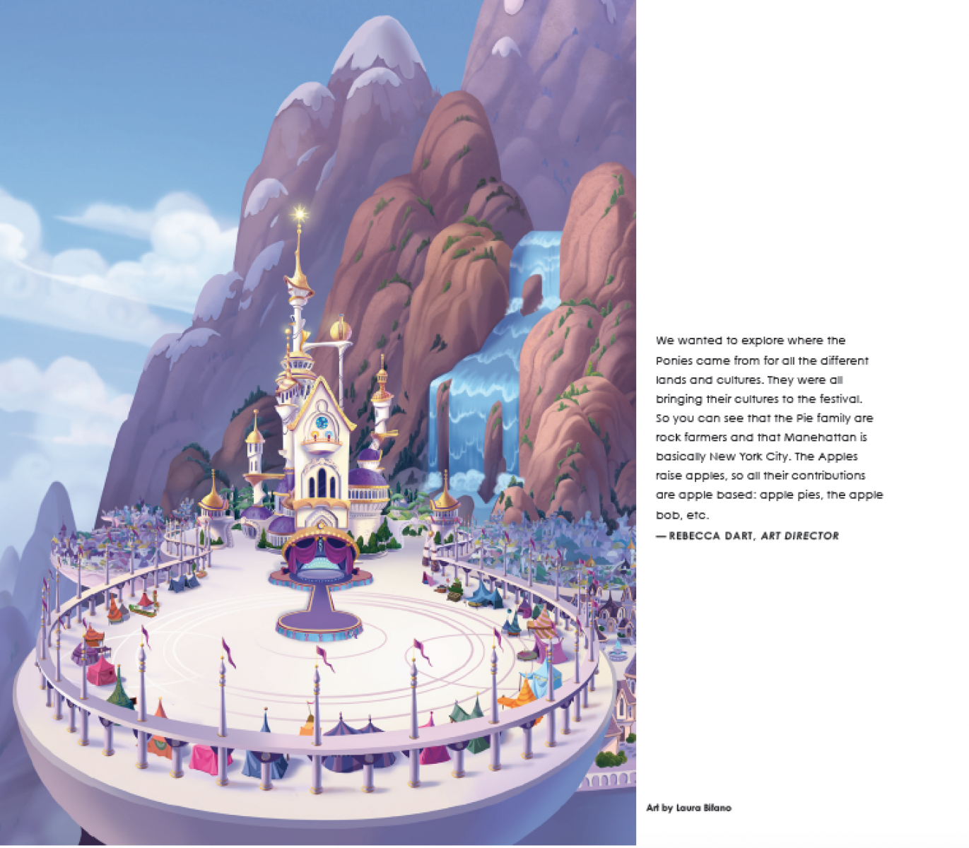 My Little Pony The Movie Concept Art Backgrounds
