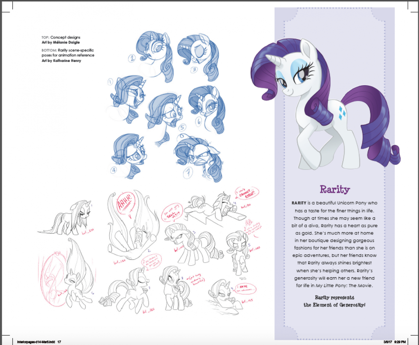 My Little Pony The Movie Concept Art Characters