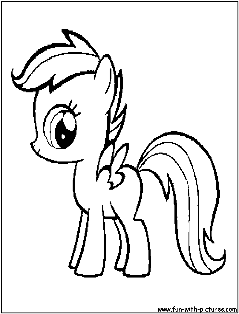 Coloriages mon petit poney - Coloriage de my little pony ...