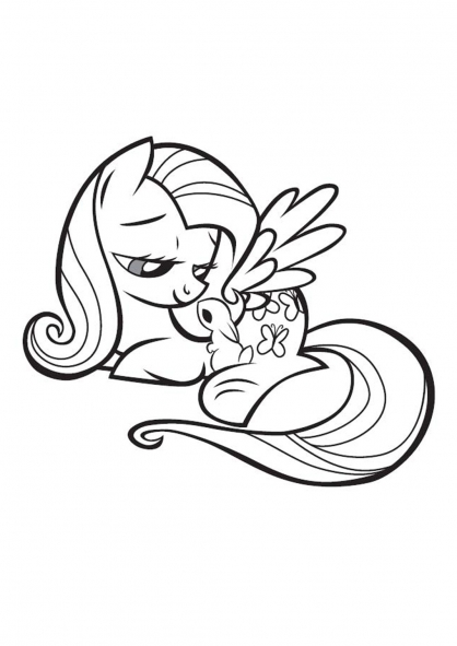 Coloriages mon petit poney - My little pony a colorier ...