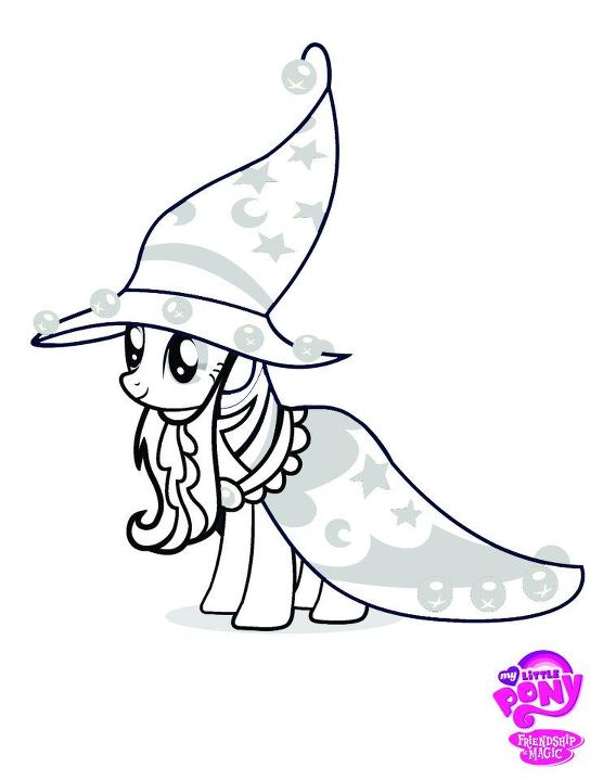 fin hopp pony coloring pages - photo#31