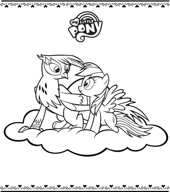 My Little Pony Wonderbolts Coloring Pages : Trixie coloring pages