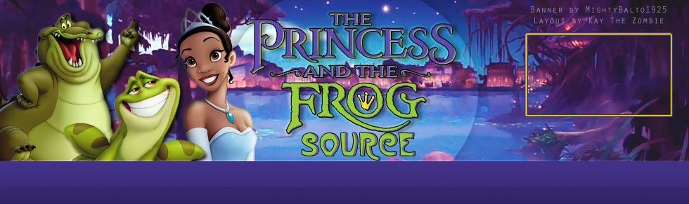 Official The Princess The Frog Characters