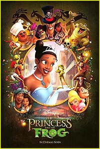 The Princess & The Frog - Movie Poster