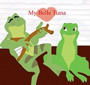 Tiana and Naveen as frogs colored