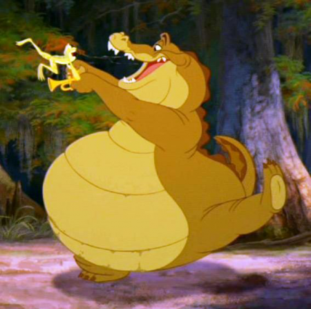 Princess and the frog louis - photo#8