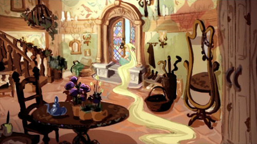 Concept Art Backgrounds 169 Tangled
