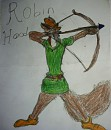 The brave and daring Robin Hood
