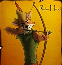 Robin Hood on wanted poster