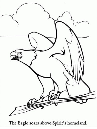 Coloring Pages © Spirit