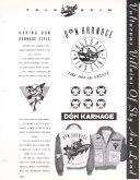 Don Karnage merchandise