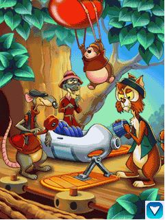 Chip & Dale Rescue Rangers game