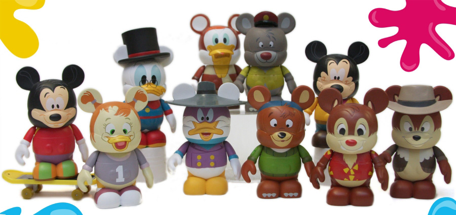 Disney Afternoon vinylmations
