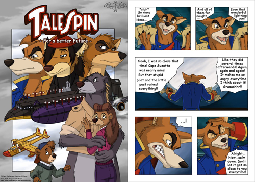 TaleSpin - For a Better Future comic