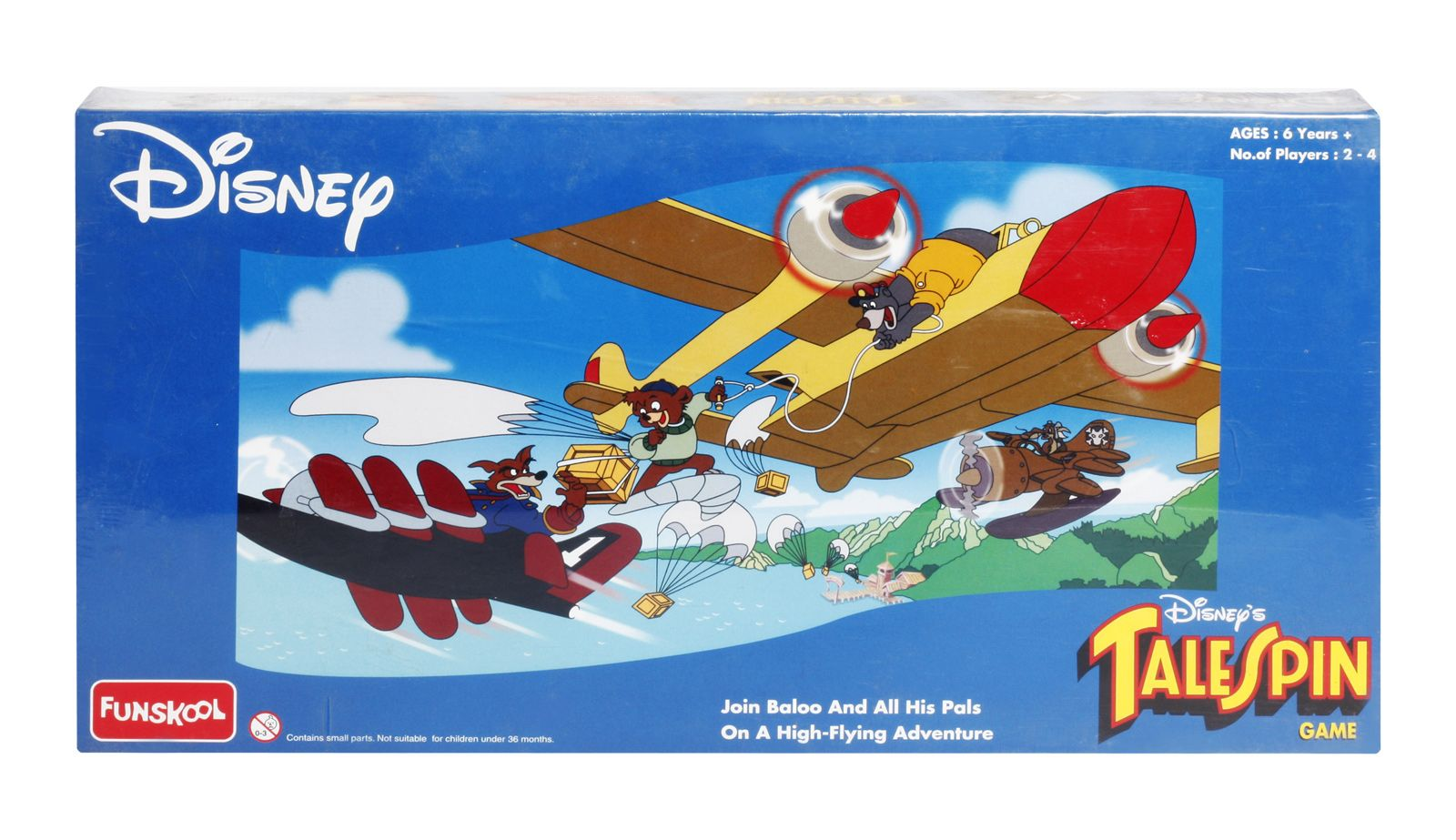 Talespin indian board game