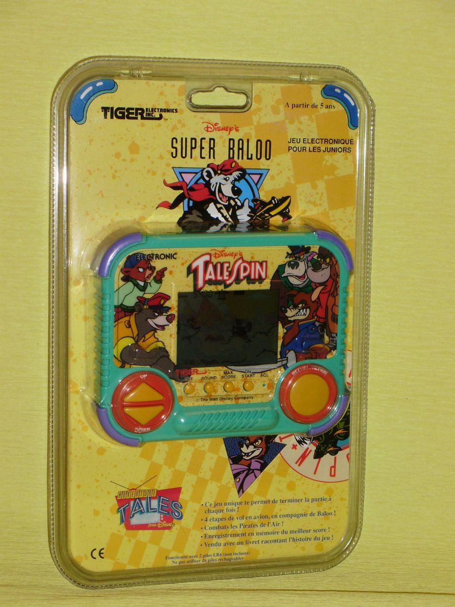 Tiger TaleSpin LCD Game