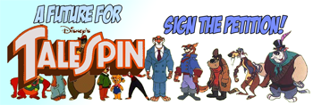 TaleSpin petition