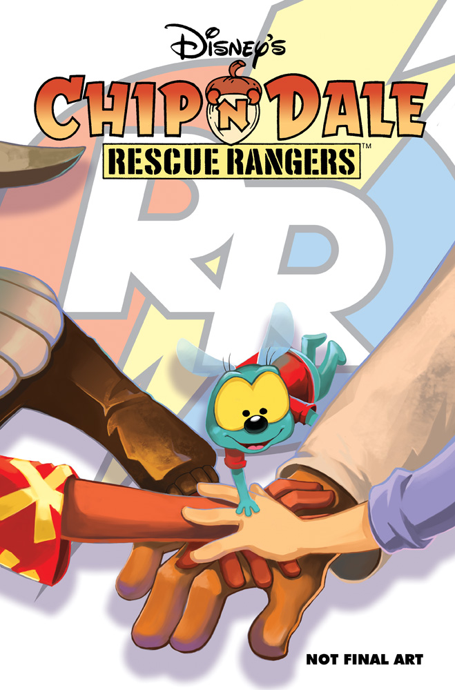 Chip Dale Rescue Rangers comic cover 3