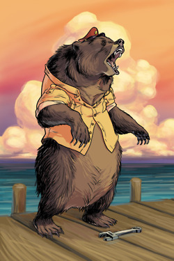 Cancelled Baloo TaleSpin comic cover