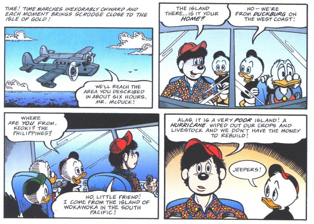 Cameo for TaleSpin in one of Don Rosa's comics