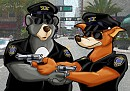 Baloo Spencer & Don Hill- Miami Supercops