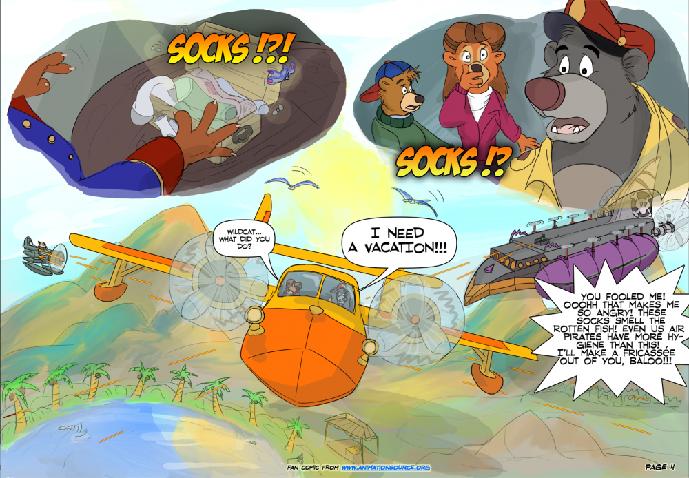 TaleSpin fan comic page 4