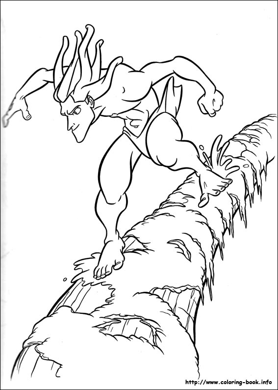 Coloriages 169 Tarzan