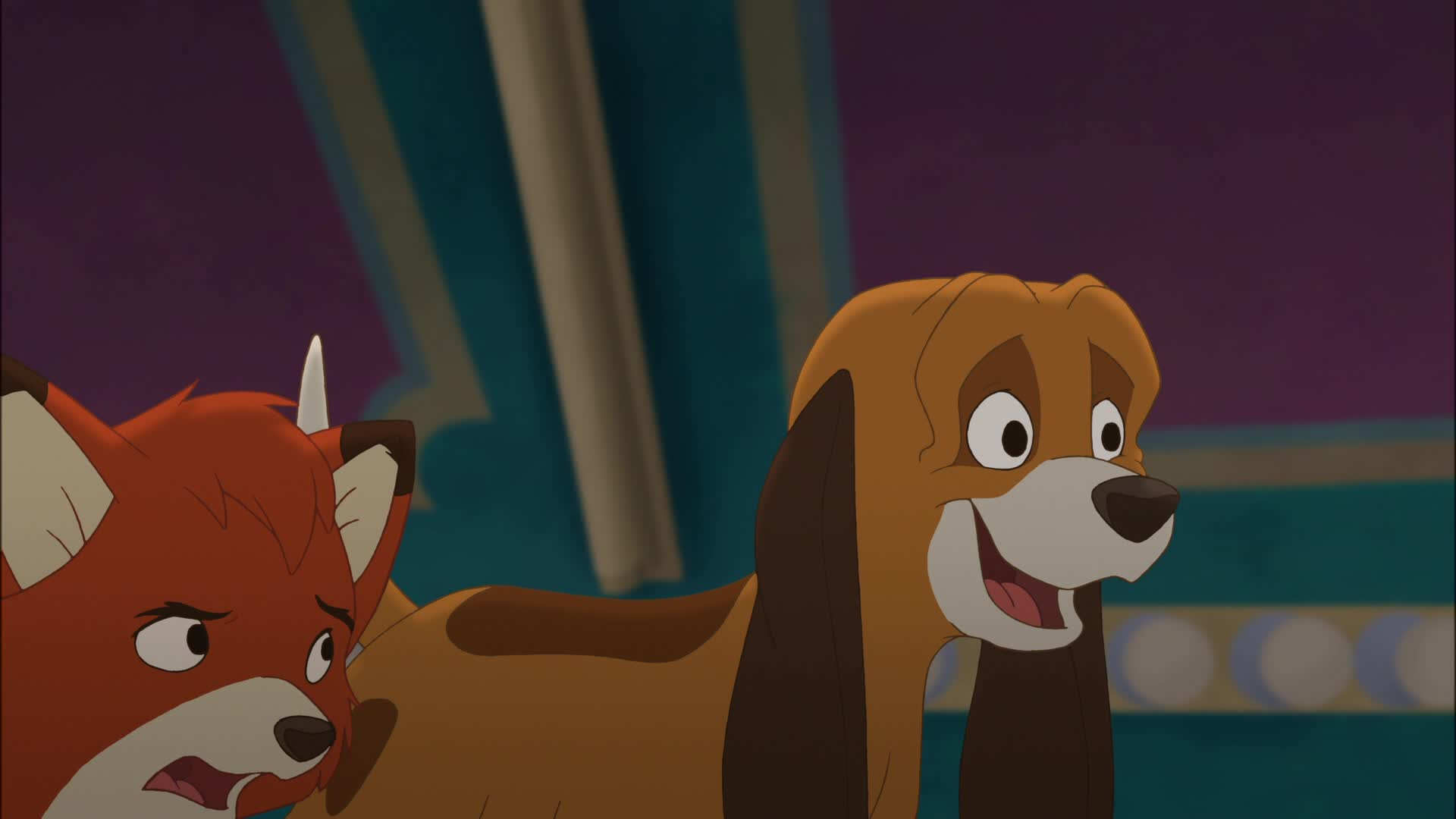 Squeaks C The Fox And The Hound