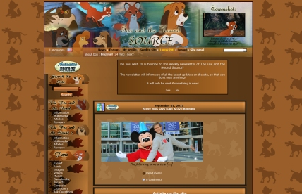 The Fox & The Hound Source fansite